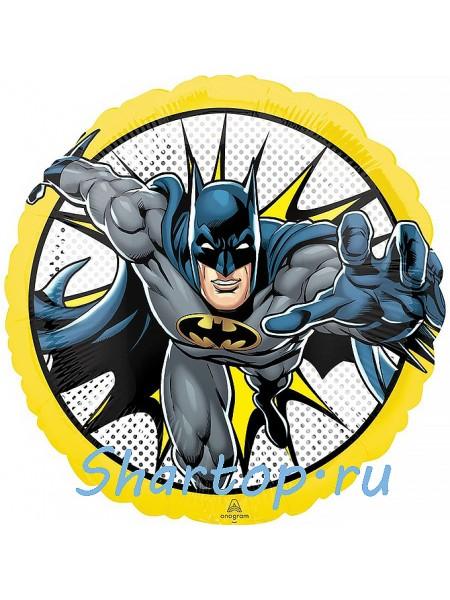 """Фольгированный шар с гелием """"Бэтмен"""" 46 см"""