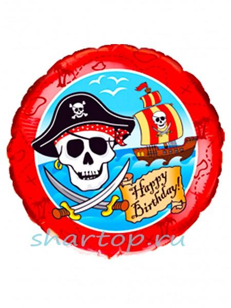 """Фольгированный шар  """"Пираты"""""""