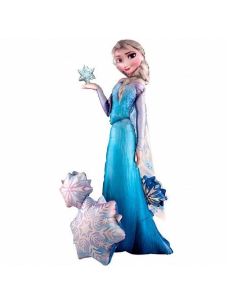 Ходячий шар Эльза Холодное сердце / Frozen - Elsa (США) с гелием